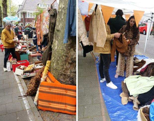 Apollolaan vrijmarkt 2018 kleding Amsterdam go with the vlo