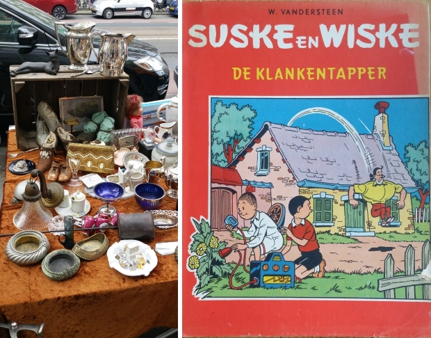 Beethovenstraat vrijmarkt Amsterdam Suske en Wiske De klankentapper go with the vlo