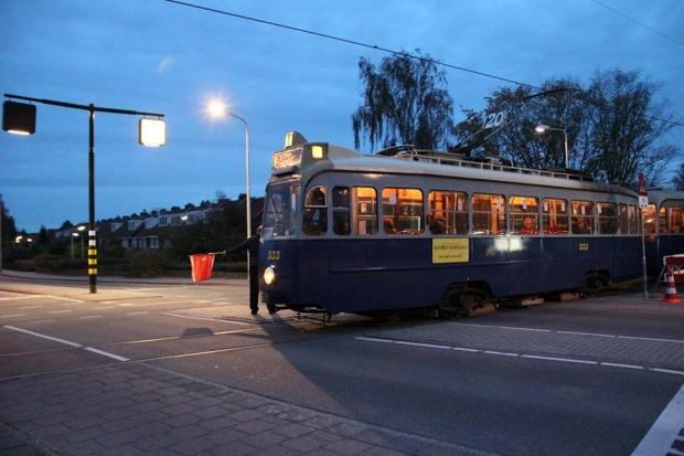 Electrische Museumtramlijn Amsterdam avond sloop go with the vlo