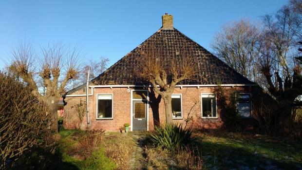 Friesland boerderij Driezum voorkant go with the vlo