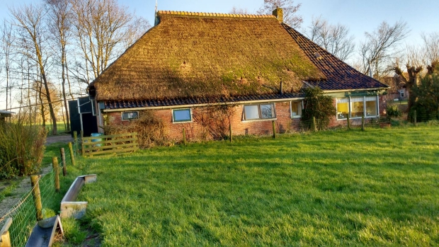 Friesland boerderij Driezum zijkant go with the vlo