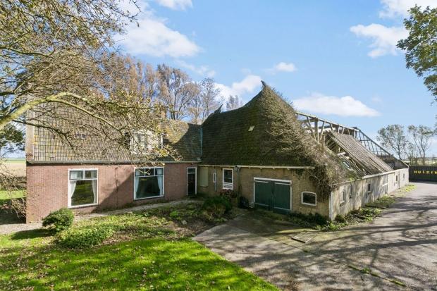 Friesland boerderij Vrouwenparochie dak go with the vlo