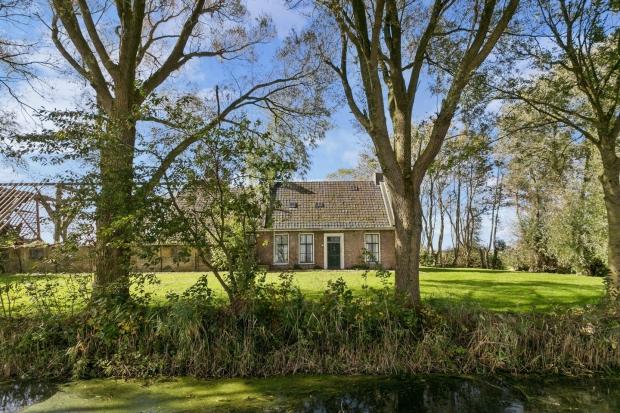 Friesland boerderij Vrouwenparochie weiland go with the vlo