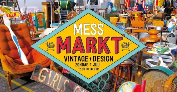 Mess Markt Harderwijk vlooienmarkt vintage tweedehands go with the vlo