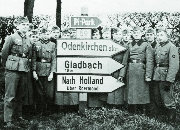 Nach Holland Gerard Groeneveld Tweede Wereldoorlog soldaten go with the vlo
