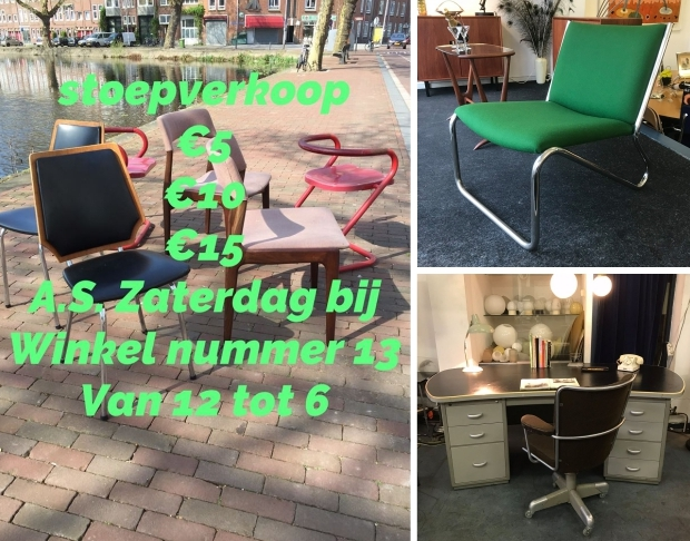Nummer13 uitverkoop designstoelen go with the vlo