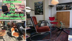 OMG, vintage designstoelen tegen dumpprijzen!