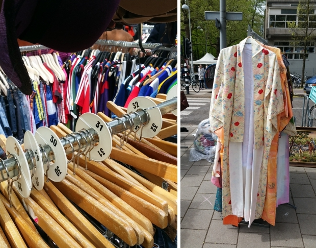 Vrijmarkt Apollolaan Amsterdam 2018 kleding go with the vlo