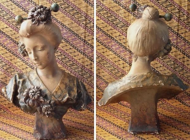 Antieke buste Frankrijk beeld Marktplaats go with the vlo