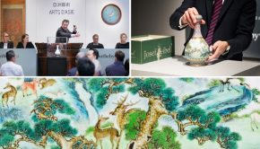 Chinese vaas Sothebys Parijs go with the vlo