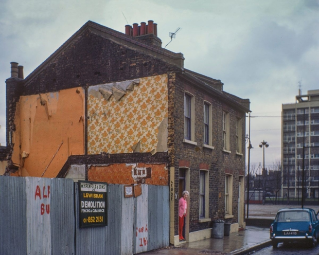 David Granick East End in Colour fotoboek gesloopt go with the vlo