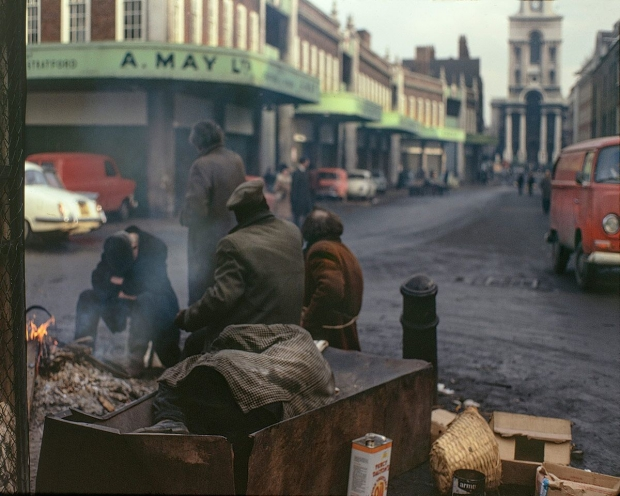 David Granick East End in Colour fotoboek Old Spitalfields market go with the vlo
