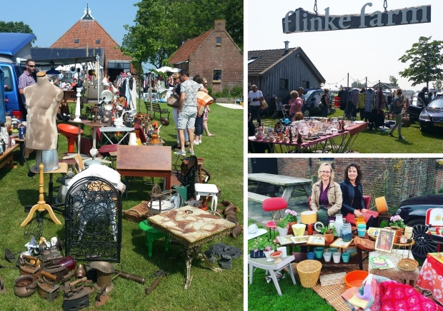 Flinkefarm it Flinkeboskje vlooienmarkt Flinke Flea go with the vlo