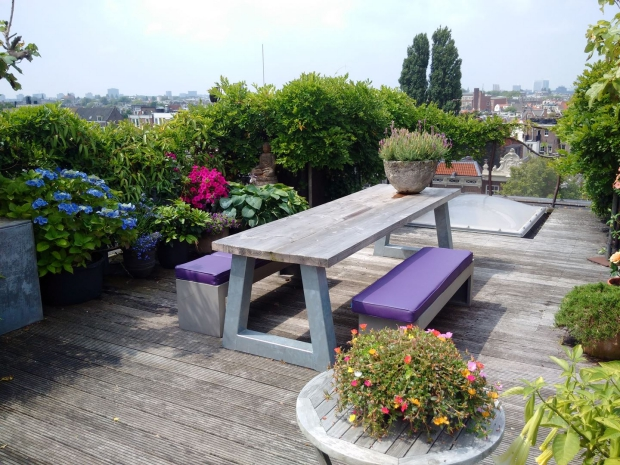 Amsterdam Keizersgracht penthouse dakterras go with the vlo
