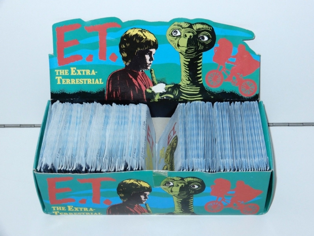 E.T. film verzamelplaatjes 1982 go with the vlo