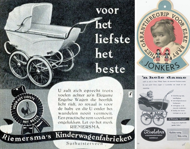 Riemersma Jonkers Koelstra Friesland kinderwagens vintage go with the vlo