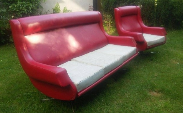 Space age bank en stoel 2dehands.be go with the vlo