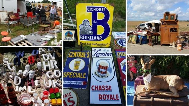 Brocante de Temploux België vintage vlooienmarkt rommelmarkt go with the vlo