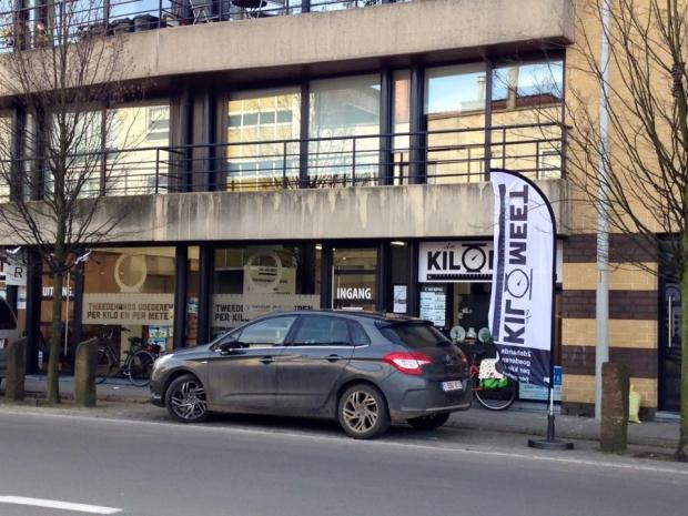 De KiloMeet kringloop België auto tweedehands go with the vlo