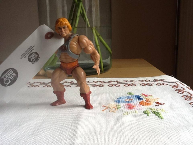 De KiloMeet kringloop België He-Man vintage go with the vlo