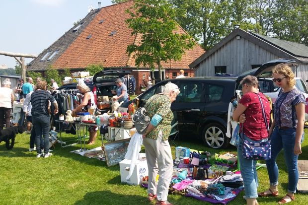 Flinke Flea Market vlooienmarkt Hemelum Flinkefarm go with the vlo