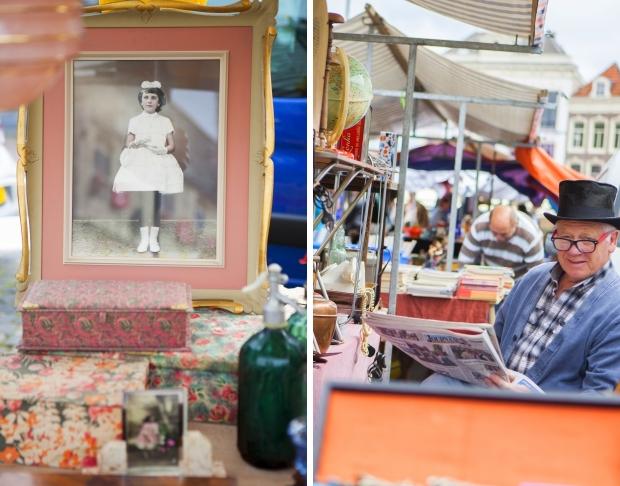 Gouds Montmartre rommelmarkt antiekmarkt go with the vlo