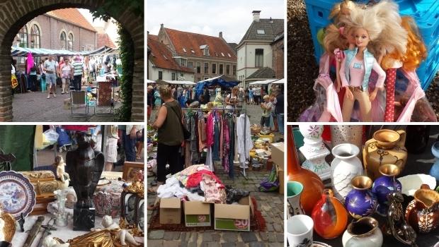 rommelmarkt op zaterdag