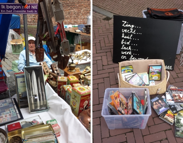 Hattem rommelmarkt vintage blikken go with the vlo