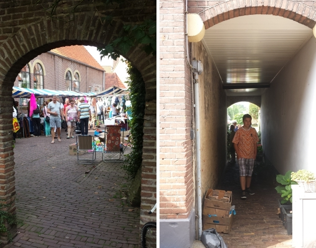 Hattem steegjes rommelmarkt go with the vlo