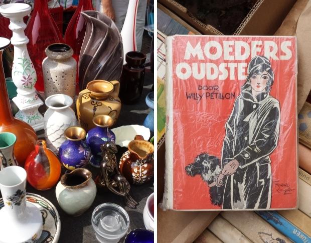 Rommelmarkt Hattem Moeders Oudste kinderboek go with the vlo