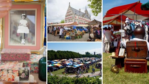 Rommelmarkt Zierikzee Gouds Montmartre zomer 2018 go with the vlo