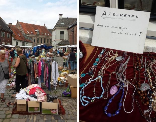Vlooienmarkt Hattem sieraden vintage go with the vlo