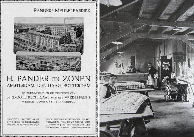 H. Pander en Zonen meubelmakers go with the vlo
