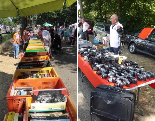Kofferbakverkopen Apeldoorn rommelmarkt camera's go with the vlo
