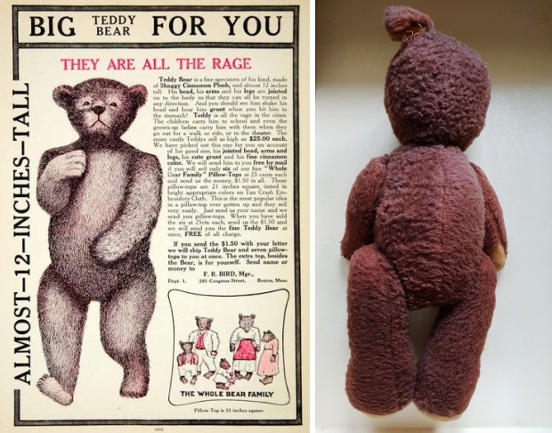 Teddybeer Free Vlo gratis vintage go with the vlo