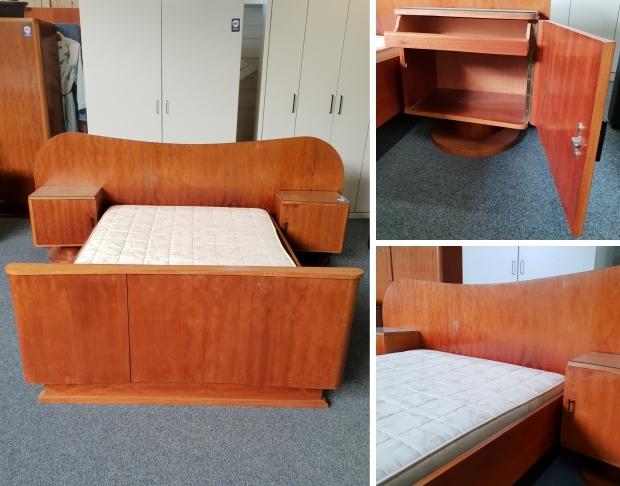 Art deco slaapkamer kringloop Het Goed Vlaardingen go with the vlo