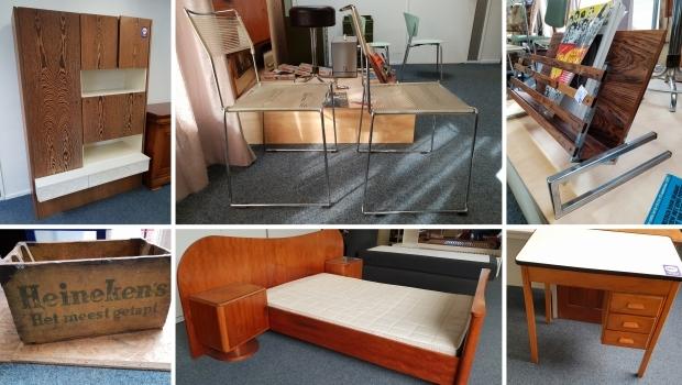 Kringloop Het Goed Vlaardingen vintage meubels go with the vlo