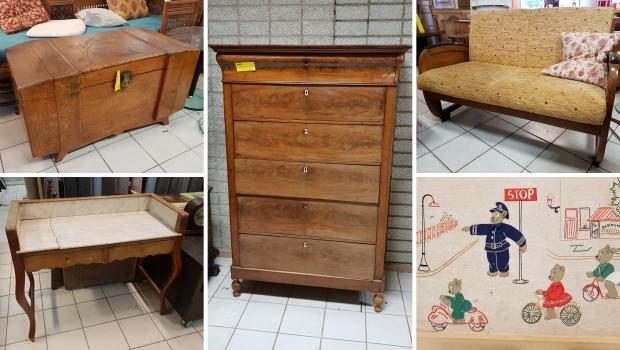 Vintage meubels Kringloop Den Haag go with the vlo