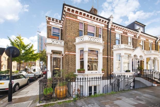 Binnenkijker Londen huis Henry Wilson go with the vlo