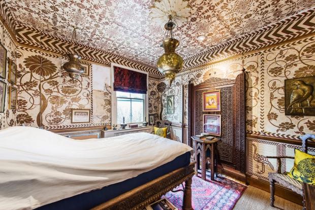Binnenkijker Londen huis Henry Wilson slaapkamer go with the vlo