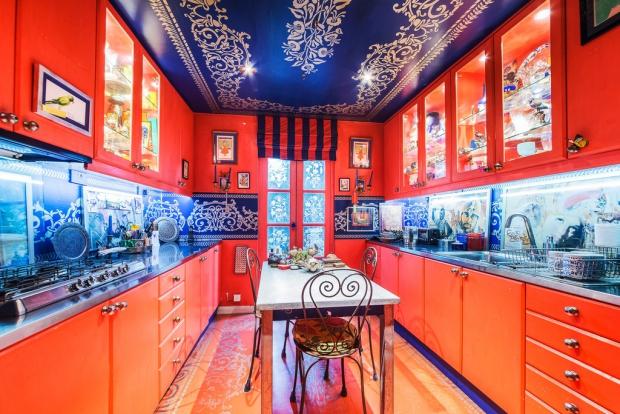 Binnenkijker Londen huis keuken Henry Wilson go with the vlo