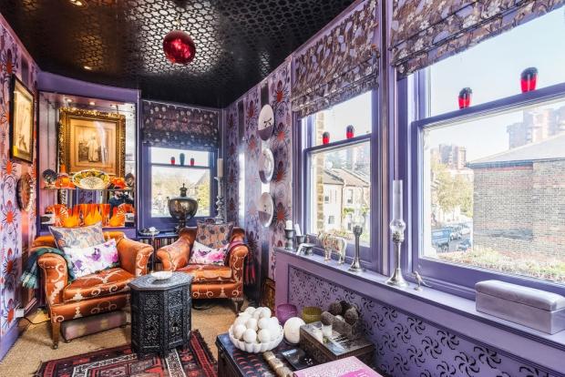 Binnenkijker Londen huis stoelen Henry Wilson go with the vlo