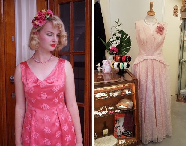 Bobby Pin Boutique Noortje Laan vintage jurk romantisch go with the vlo