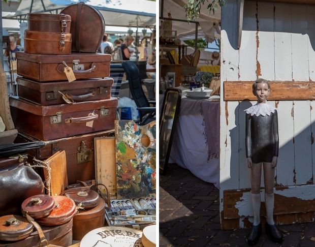 Brocantemarkt Heusden antiek curiosa go with the vlo