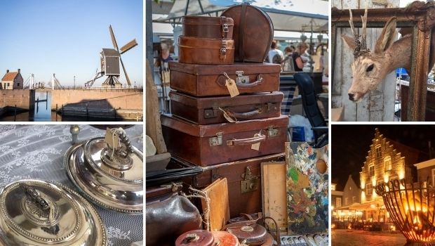 Brocantemarkt Heusden antiek curiosa vintage go with the vlo