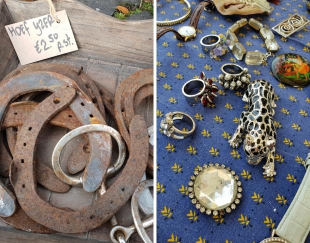 Brocantemarkt Heusden hoefijzers sieraden go with the vlo