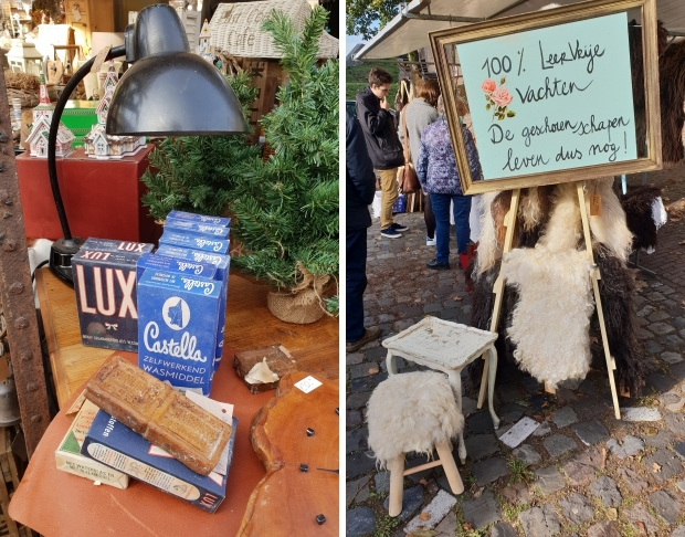 Brocantemarkt Heusden vachten go with the vlo