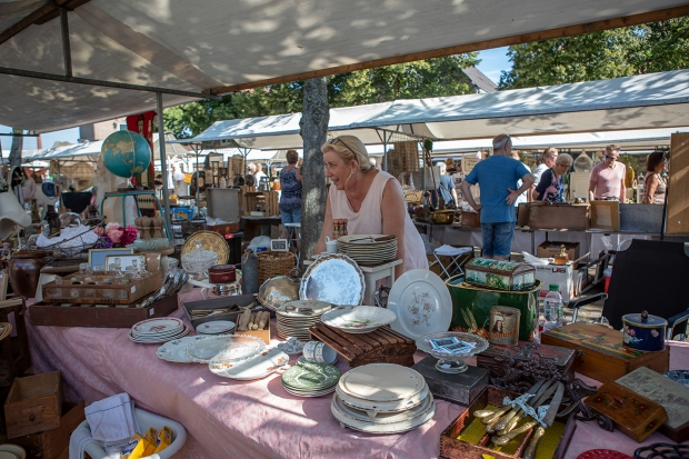 Brocantemarkt Heusden zomer antiek curiosa go with the vlo