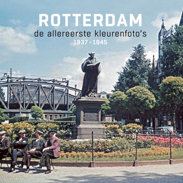 Rotterdam de allereerste kleurenfoto's boek go with the vlo