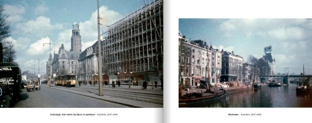 Rotterdam de allereerste kleurenfoto's Coolsingel go with the vlo 3